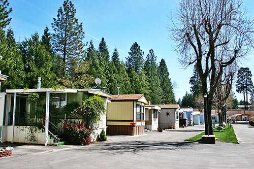The Beautiful Mobile Homes At Ponderosa Estates In Pollock Pines CA