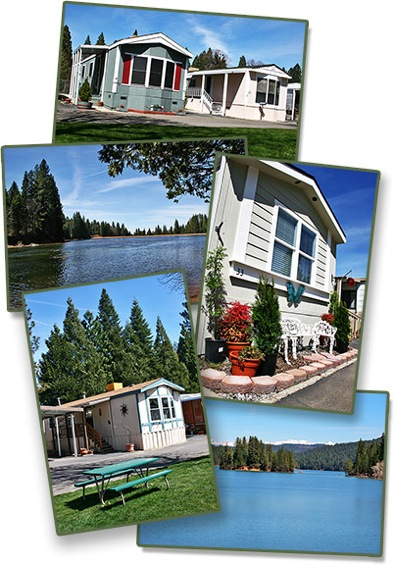 Ponderosa Mobile Estates In Pollock Pines CA Has Beautiful Homes For Sale